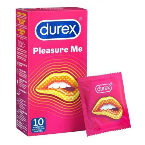 Durex Pleasure Me Kondome - 10 Kondome