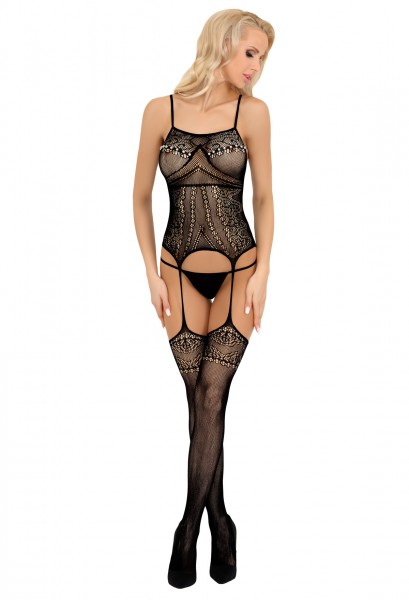 Asumpta bodystocking black