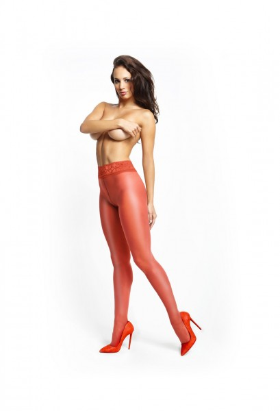Pantyhose overt red 20den