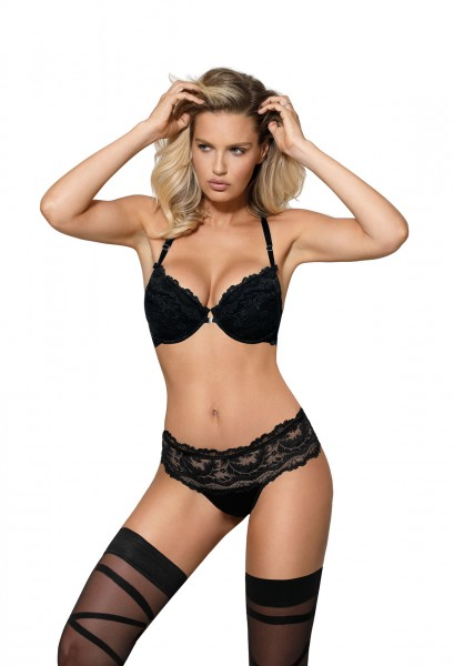 Sefia push-up bra black von ROZA
