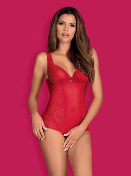 Rougebelle Crotchless Teddy