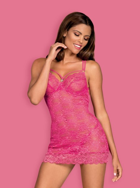 860-CHE-5 Chemise pink