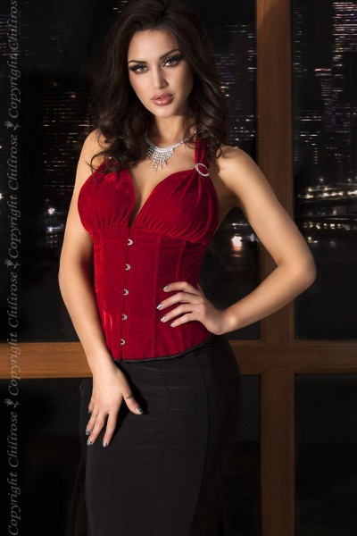 Corsage CR3452 rot